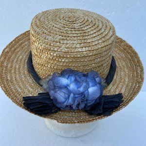 Accessories - Sun Beach Straw Hat Ribbon Bow